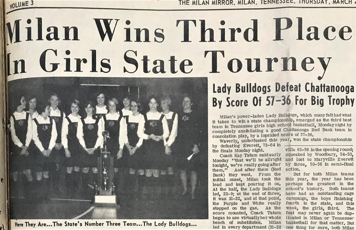 Milan's 1968 Final Four teams to be honored Jan  26 – Gibson County News