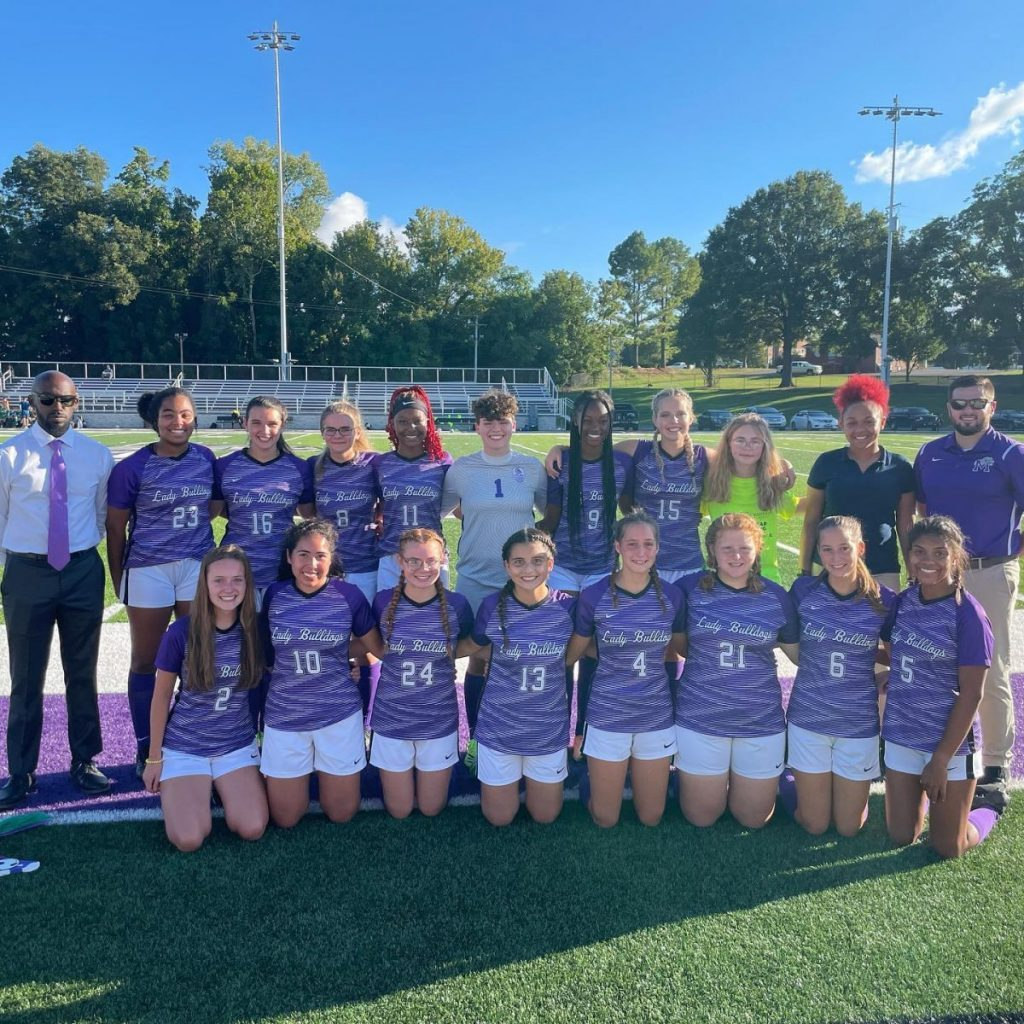 The Milan girls soccer team is 4-8 on the season with two weeks remaining in the 2021 season.