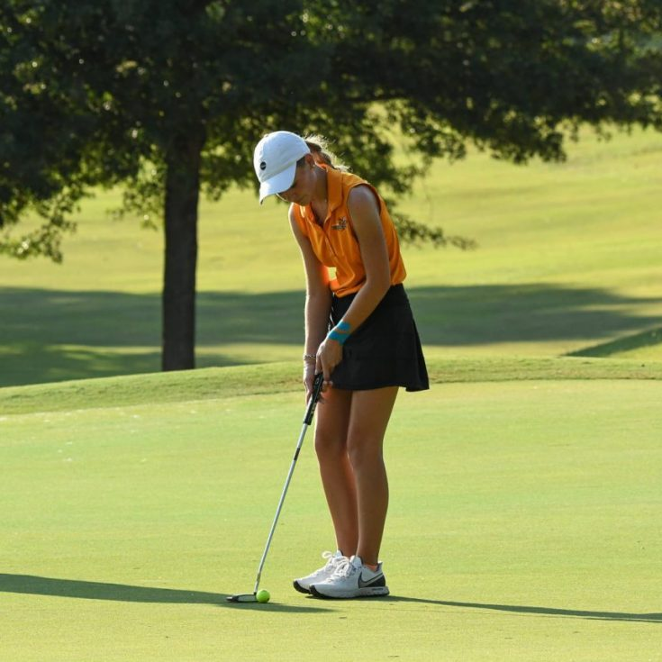 South Gibson's Emma Butler shot a 40 at Humboldt Golf and Country Club on Monday to earn medalist honors in a match against Jackson Christian.