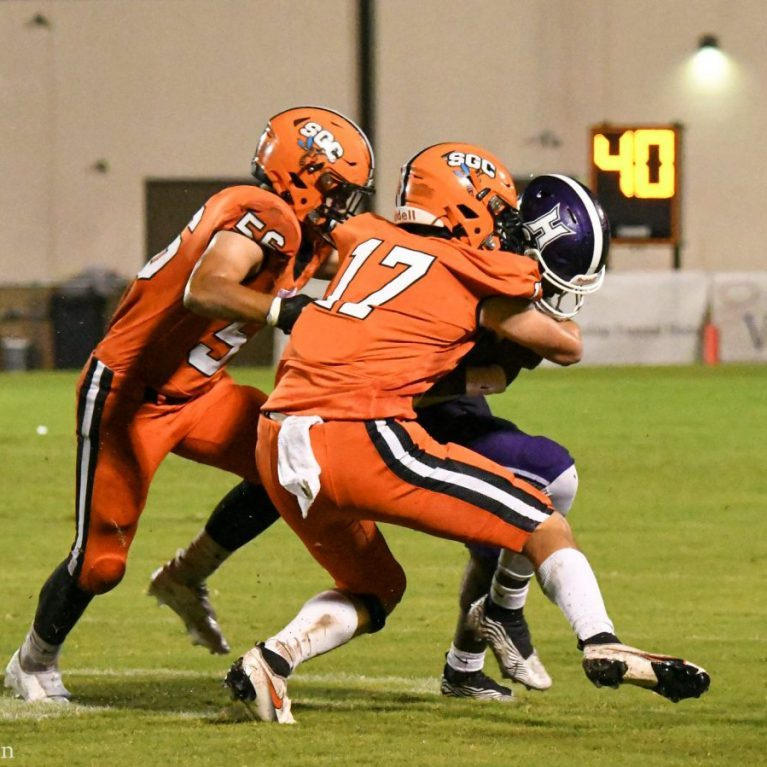 South Gibson played Haywood in Week 9 action during the 2021 high school football season.