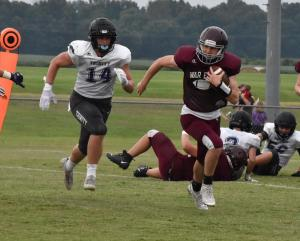 Gallery: TSSAA football scrimmage, TCA at West Carroll
