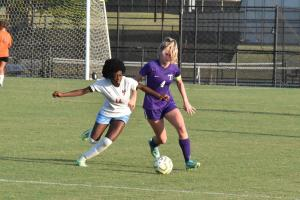 Gallery: TSSAA girls soccer scrimmage, South Gibson at TCA