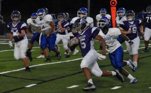 Gallery: Middle school football, Martin at Milan