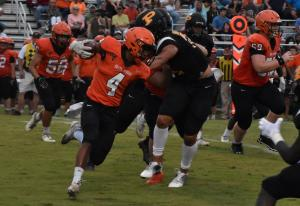 Gallery: High school football jamboree, South Gibson at Peabody