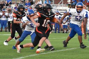 Gallery: Middle school football, Northeast at South Gibson
